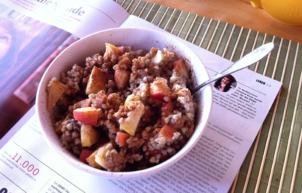 Buchweizenporridge - das perfekte Frühstück