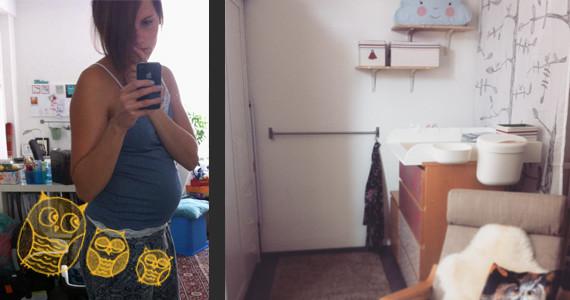 Babybauch SS29 und Kinderzimmer