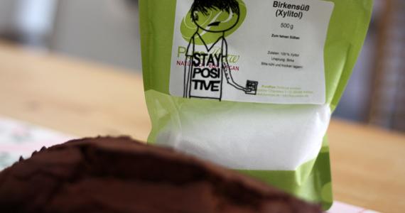 Rezept für Kuchen mit Xylit Zuckeralternative (Schokokuchen)