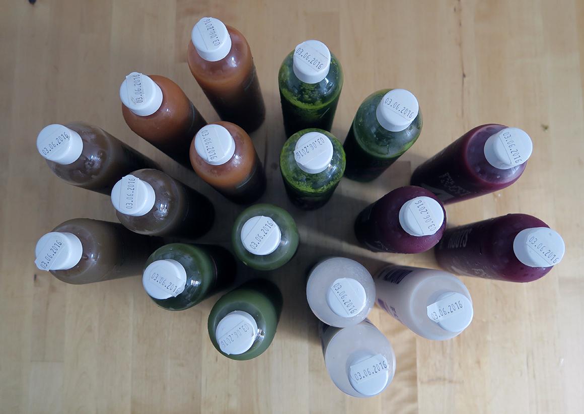 kaleandme saftkur 3 tage 18 flaschen erfahrung