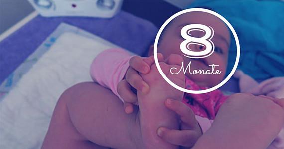 8 Monatsupdate von Babygirl