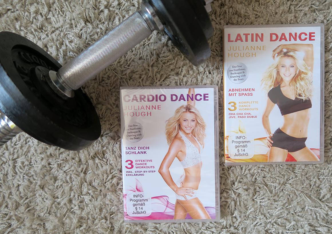 Erfahrung Latin und Cardio Dance DVD mit Jjulianne Hough