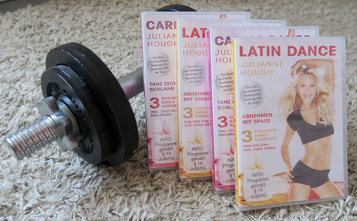 Verlosung Latin und Cardio Dance DVD mit Julianne Hough