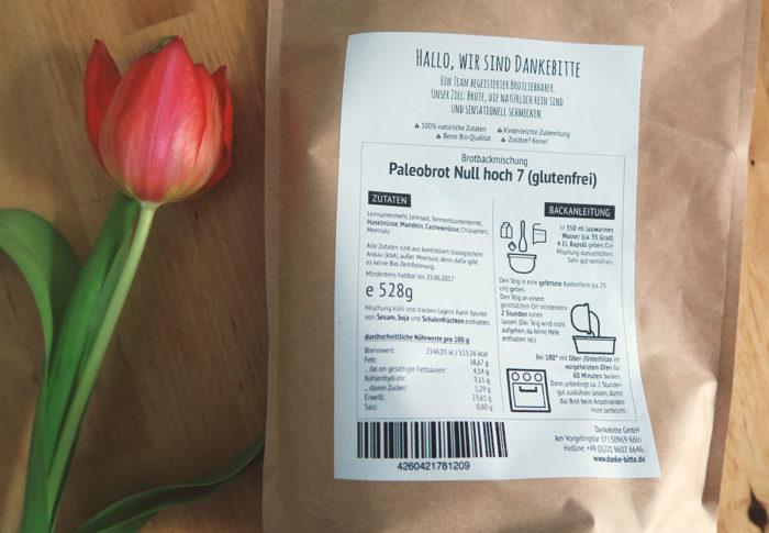Gesunde Backmischung mit natürlichen Inhaltstoffen