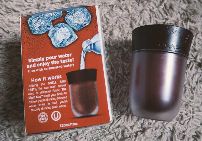 The Right Cup, Becher, Test auf deutsch, Cola Geschmack Sorte