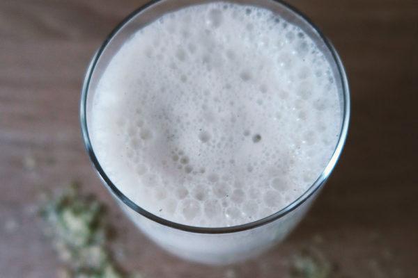 Hanfmilch selber machen