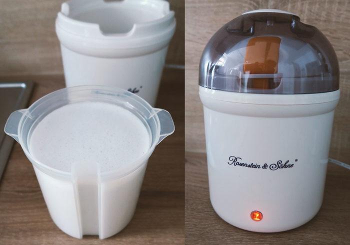 Kokosjoghurt selber herstellen mit Joghurt-Maker