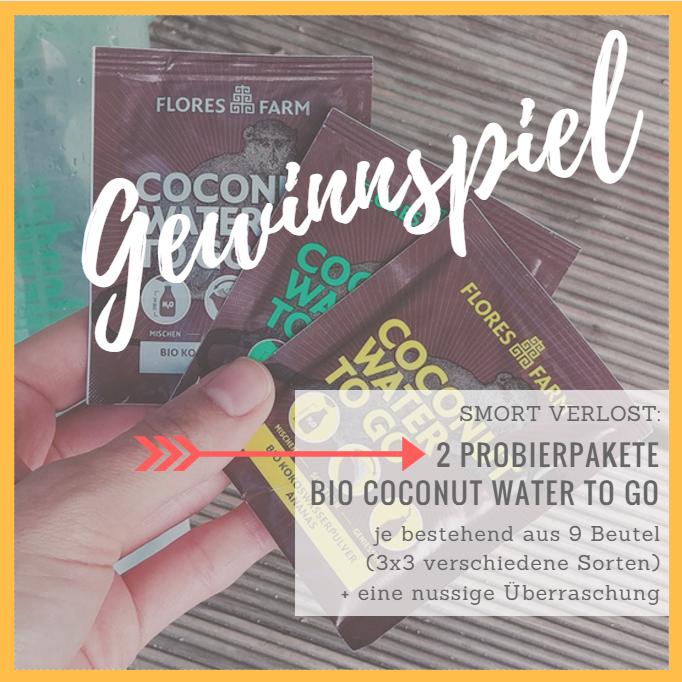 Gewinnspiel Coconut Water TO GO auf smort.de