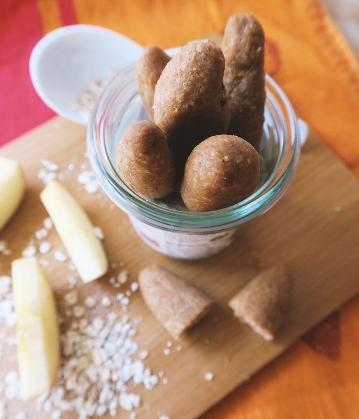Zuckerfreie Snacks für Kleinkinder - Dinkelstangen