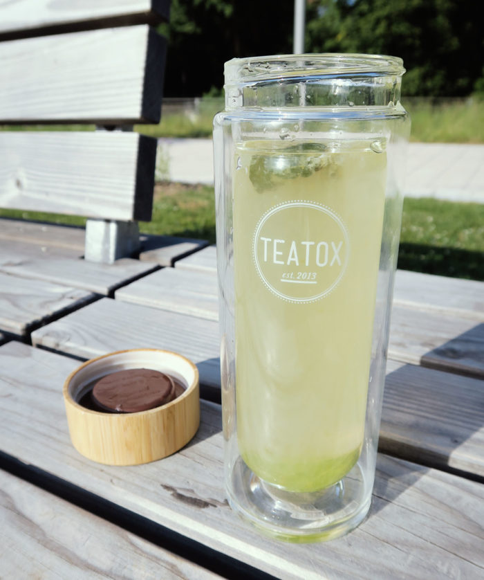 Erfahrung Test Teatox.de Teatox Kaffee Alternative Grüner Tee mit Guarana
