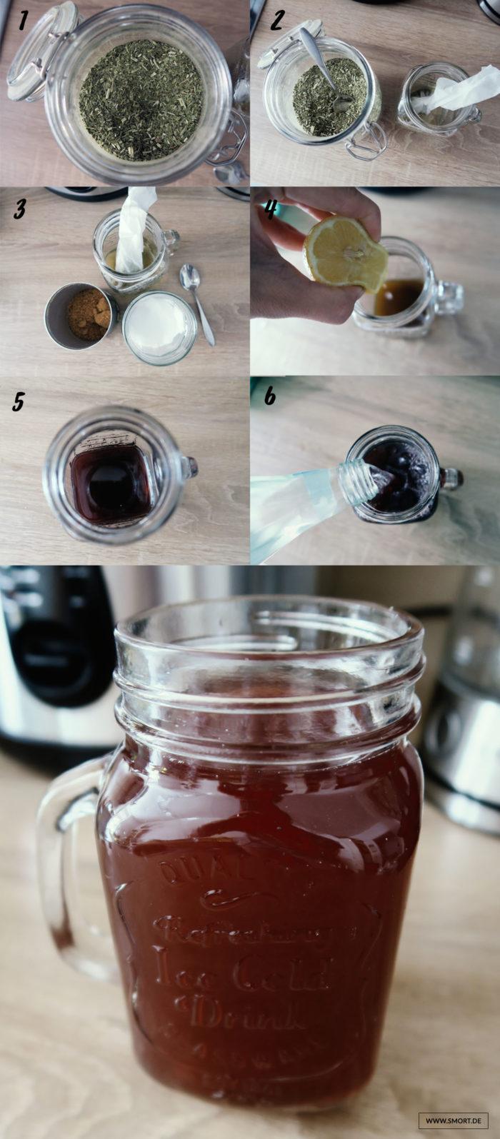Gesunde Kaffee-Alternativen mit Koffein im Test: Mate Tee mit Rezeptidee