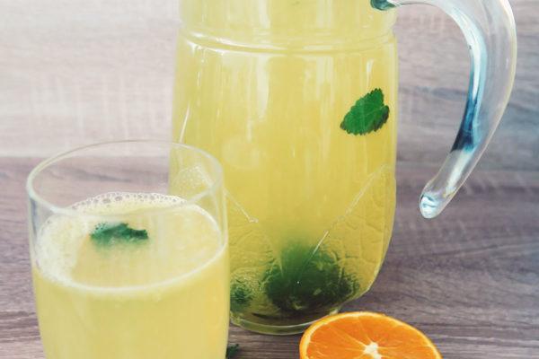 Orangen-Zitronen- Limonade selber machen ohne Zucker