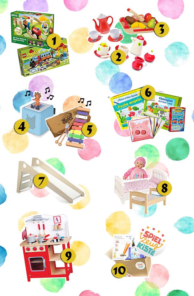 10 sinnvolle + nützliche Geschenkideen für 2-Jährige