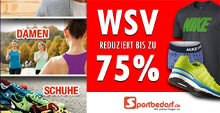 Sportbedarf.de - SALE: Sportbekleidung, Schuhe, Taschen bis zu 75% auf UVP reduziert