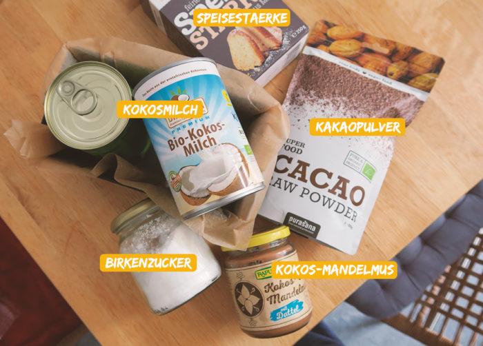 Veganes Schokoladeneis ohne Eismaschine - zuckerfrei extra cremig aus 5 Zutaten