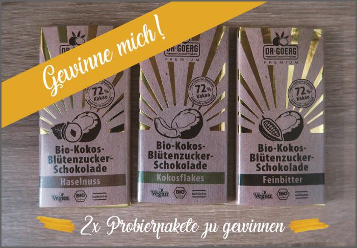 Dr. Goerg Bio-Kokos-Blütenzucker-Schokolade Gewinnspiel