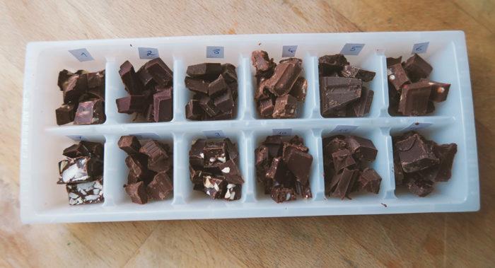 Schokolade mit Kokosblütenzucker - Test Vergleich