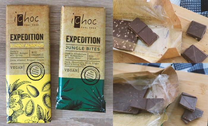 iChoc gesunde Schokolade mit Kokosblütenzucker kaufen