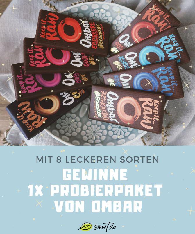 Gewinnspiel - gewinne ein Probierpaket von Ombar Schokolade auf smort.de