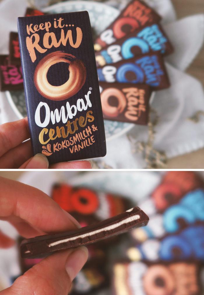 Ombar Kokosmilch & Vanille - gesunde und vegane Schokolade im Test