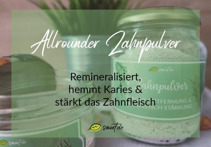 Rezepte: Remineralisierendes Zahnpulver selbst gemacht mit Xylit, Schlämmkreide, Zimt und Eichenrinde - entfernt Plaque/Zahnbelag, Kariesschutz und stärkt das Zahnfleisch | DIY | gesunde Zahnpasta ohne Fluorid, ohne Natron