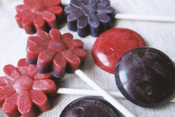 Gesunde Süßigkeiten mit Xylit - Lolli selber machen