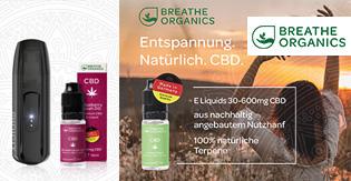 breathe organics cbd e-liquids rabatt gutschein online voucher