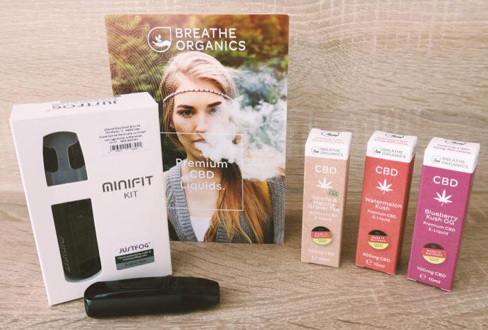 Im Test: CBD Liquids zum Dampfen von Breathe Organics