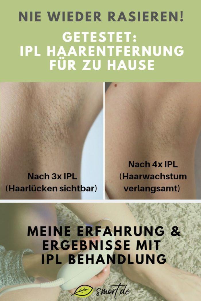 Statt Rasieren, Epilieren oder wachsen: Dauerhafte IPL Haarentfernung im Test. Vorher Nachher mit Ergebnissen. Anwendung von IPL im Gesicht, unter den Achseln und an den Beinen - Enthaarungsmethoden mit Licht #erfahrung