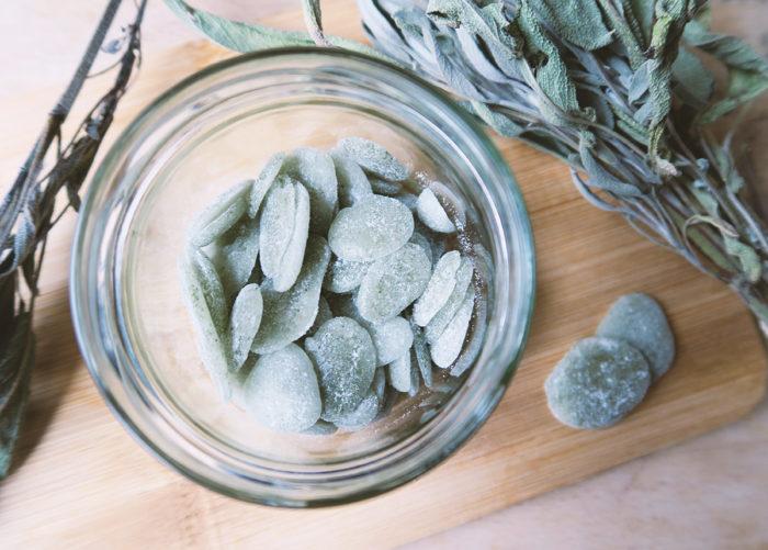 Rezept für Hustenbonbons selber machen ohne Zucker mit Xylit