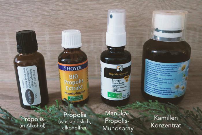 Produktübersicht - die besten Produkte gegen Aphten