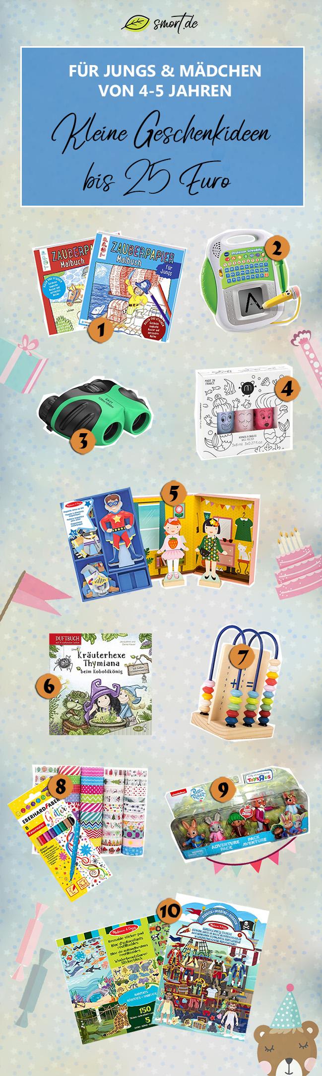 Kleine Geschenke für 4 Jährige und 5 Jährige bis 25 EURO - Mädchen und Junge #spielzeug