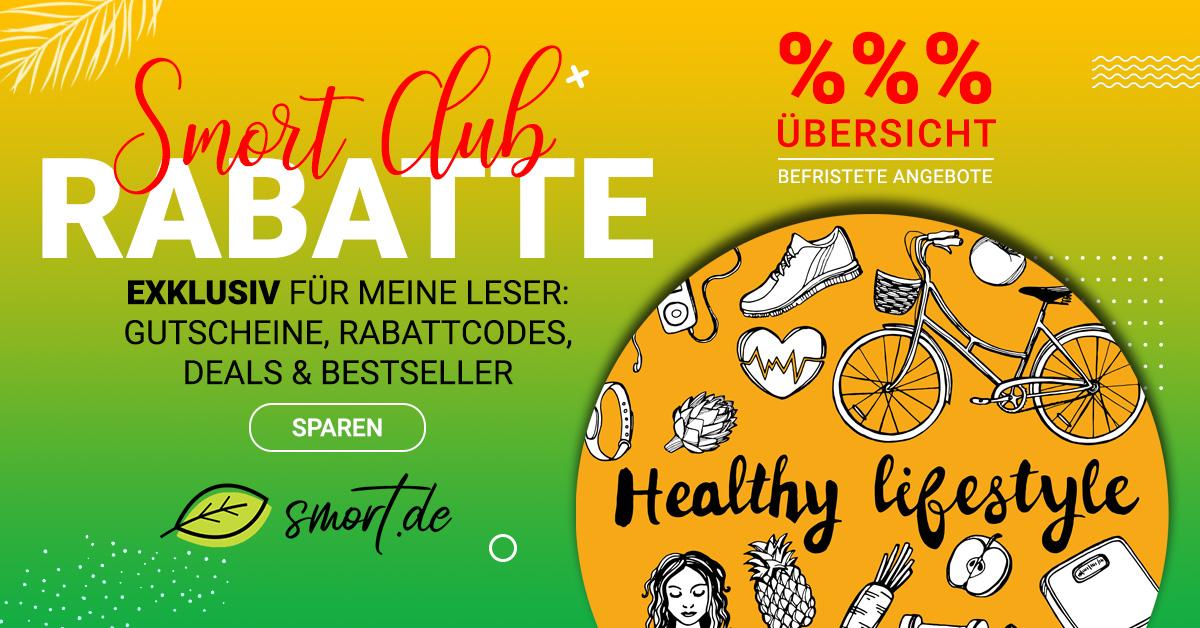 SMORT CLUB - Rabatte, Rabattcodes, Gutscheine für Gesundheit, Ernährung, Fitness, Lifestyle & Familie