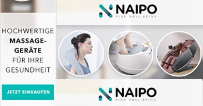 BLACK FRIDAY DEAL: NAIPO - Massagegeräte für Zuhause