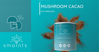 Smaints – Mushroom Cacao für mentale Performance